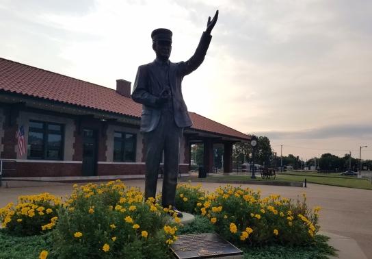 Historic Missouri-Pacific Depot Station